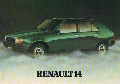 Renault 14 Autokenners