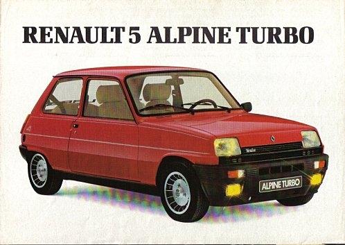 Renault oude modellen